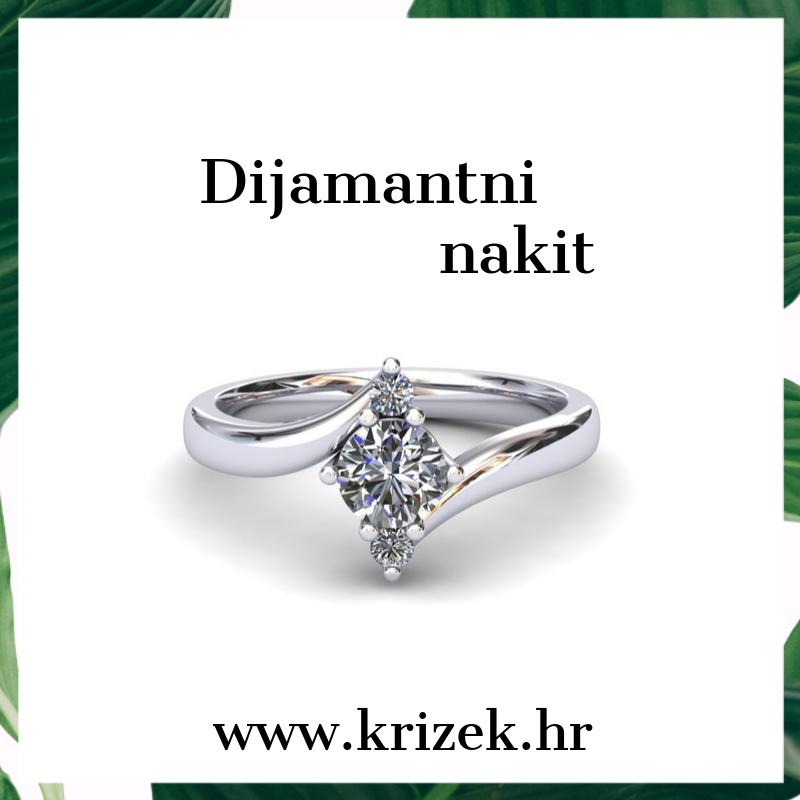 dijamantni nakit zlatarna krizek doo zagreb