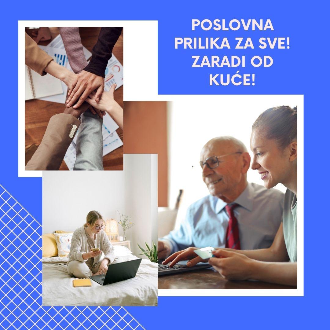 poslovna prilika za sve stare i mlade
